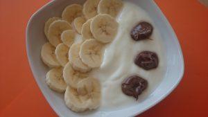 Zutaten Frozen Joghurt Banane Schoko