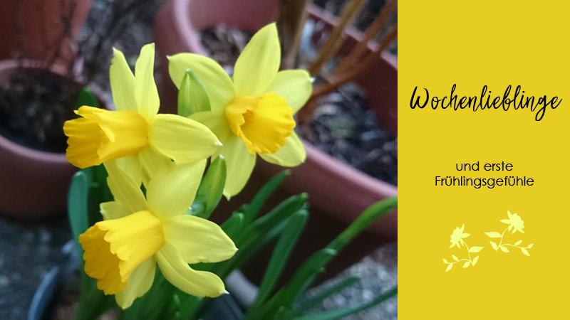 Apfelsaft, Dinosaurier und Geflügelfrikassee – Wochenrückblick mit den ersten Frühlingsgefühlen.