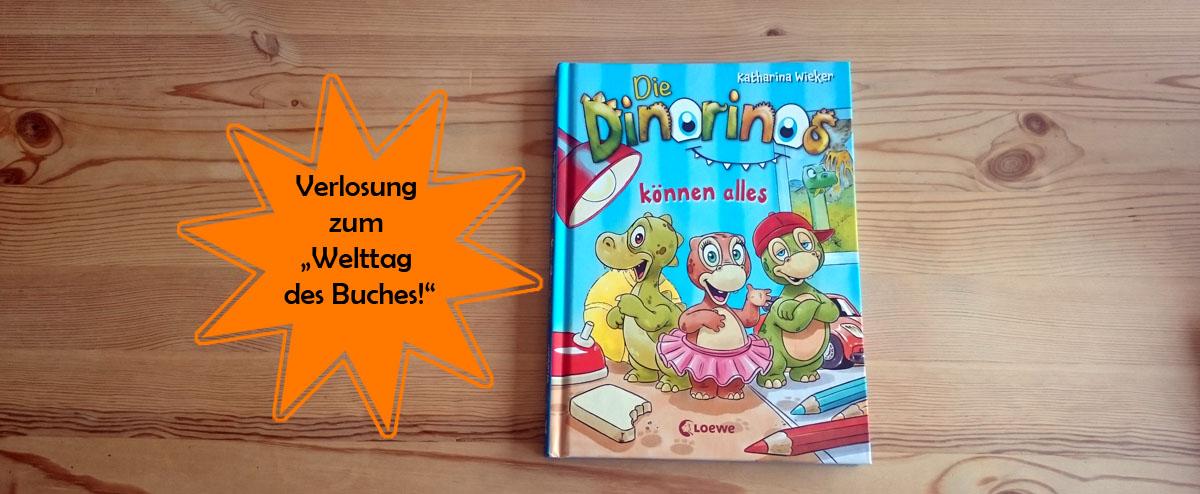 """Leseliebling & Verlosung: Kinderbuch """"Die Dinorinos können alles!"""""""