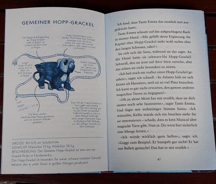 Hop Grackel Pip Bartlett magische Tiere