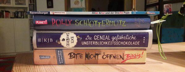 Unsere Leseliste im Juli – Kinderbücher zwischen 7 und 9 Jahren