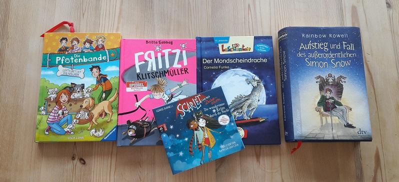 Buch-Neuzugänge im August | Leseanfänger bis Jugendbuch