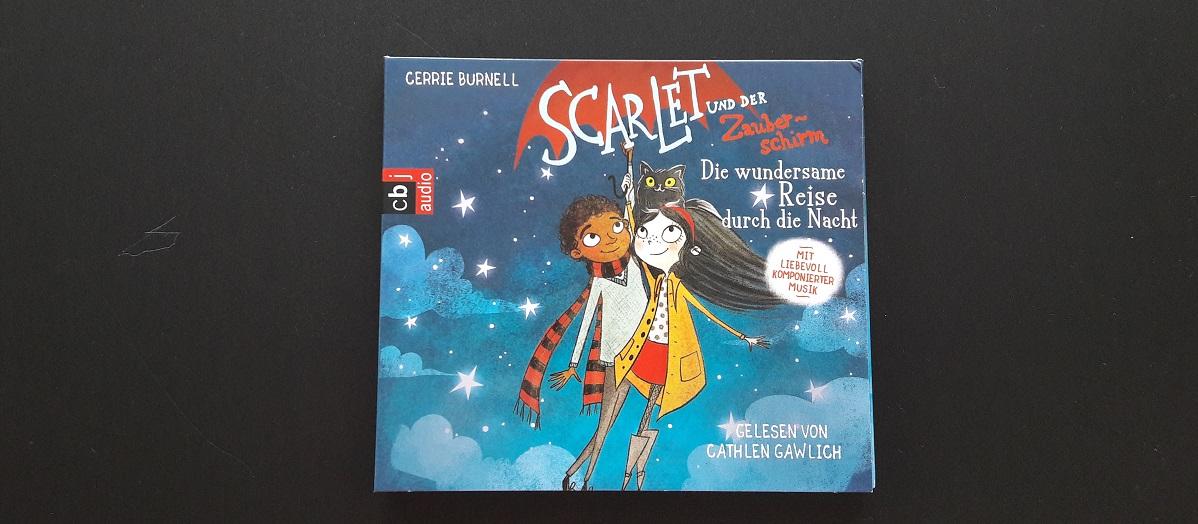 Hörbuch Scarlet und der Zauberschirm Band 2 von Cerrie Burnell