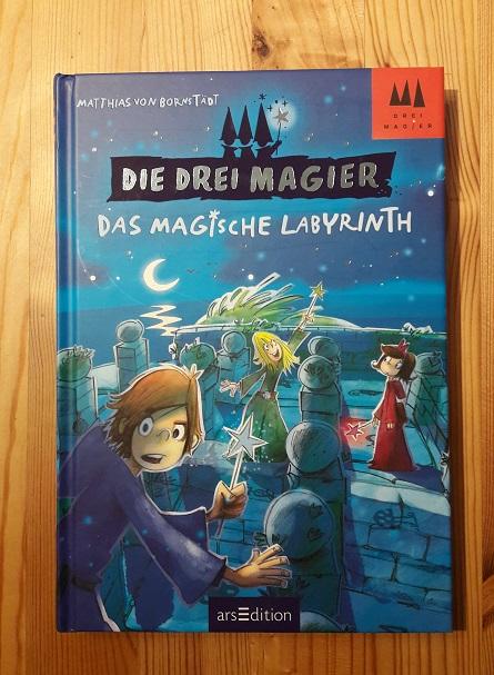 Die drei Magier - das magische Labyrinth - Kinderbücher September