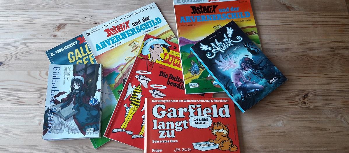 Leseförderung durch Comics – Garfield und Asterix erobern das Kinderzimmer