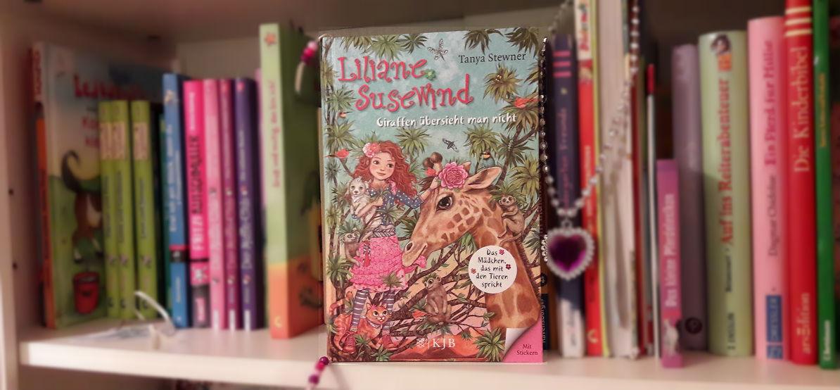 """Liliane Susewind """"Giraffen übersieht man nicht"""" – Leserunde bei Lovelybooks"""