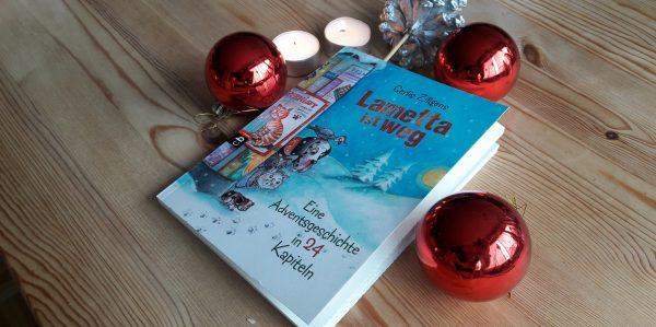 Verlosung und Rezension: Lametta ist weg – eine Adventskalender-Geschichte in 24 Kapiteln