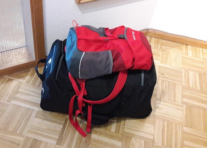 Gepäck fürs Landschulheim