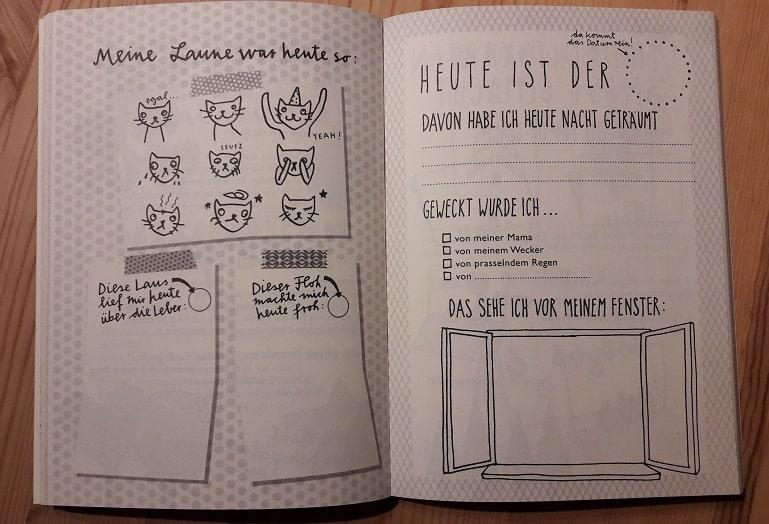 Tagebuchseite Weihnachten zum Selbermachen