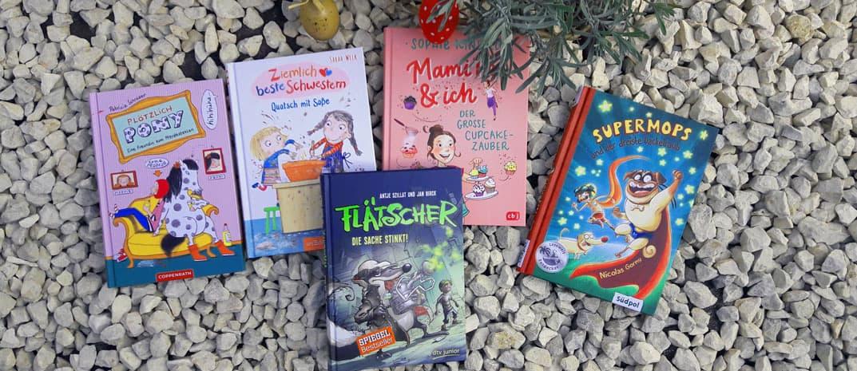 Lesespaß als Ostergeschenk – 5 Buchtipps für Kinder ab 7 Jahren!