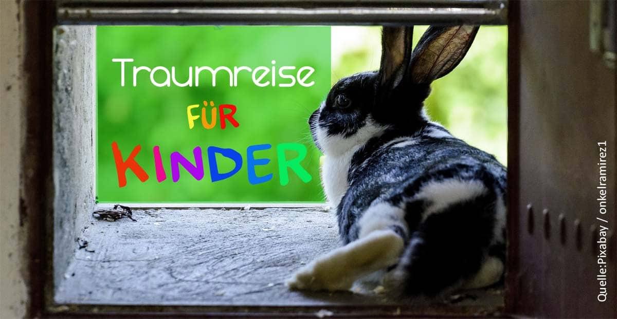 Traumreise für Kinder – Fünf Kaninchen für eine ruhige Nacht.