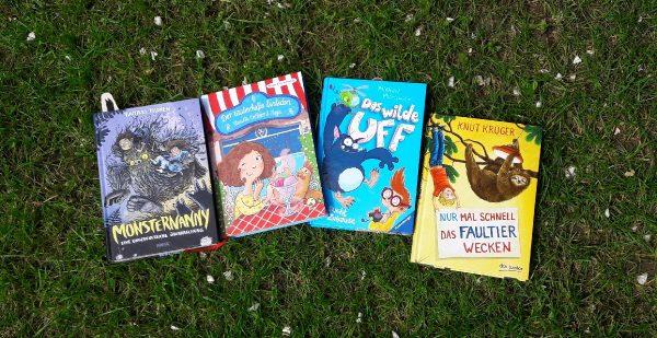 Vier neue Kinderbücher im Mai – Blogparade: Im Vorlesefieber bei Mint&Malve